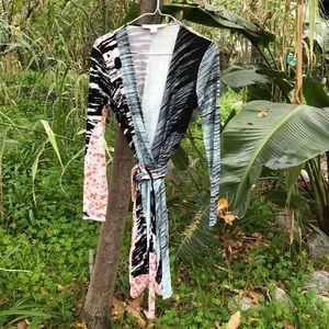 Diane von Furstenburg wrap dress 8